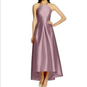 Alfred Sung Dusty Rose Bridesmaid Dress - Size 12